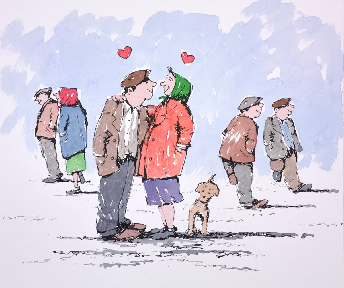 Love Will Conquer by george somerville -  sized 12x10 inches. Available from Whitewall Galleries